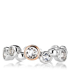 Clogau 9ct Rose Gold & Sterling Silver Celebration Ring