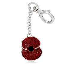 The Poppy Collection Sparkle Keyring by Buckley London
