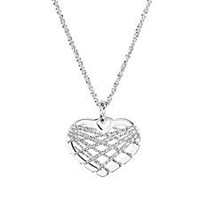 Links of London Dreamcatcher Heart Pendant & Chain Sterling Silver