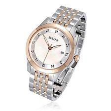 Bulova Ladies Diamond Set Stainless Steel Watch
