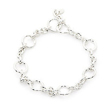 Links of London Capture Charm Carrier Bracelet Sterling Silver