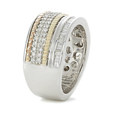 309950 - Alison Young 0.5ct Diamond Signature Ring 9ct Gold