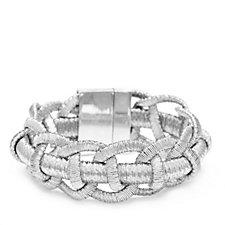 Frank Usher Woven Mesh Magnetic Bracelet