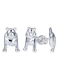 Links of London British Bulldog Cufflinks Sterling Silver
