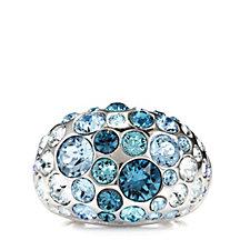Aurora Swarovski Crystal Dome Cluster Ring