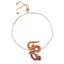 Butler & Wilson Chinese Dragon Crystal Bracelet