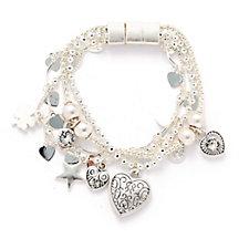 Bibi Bijoux Layered Charm Bracelet