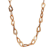 Frank Usher Chain Link 100cm Necklace