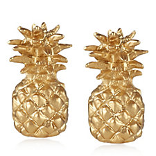 Bill Skinner Pineapple Earrings