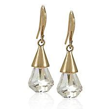 Aurora Swarovski Crystal Rain Drop Earrings