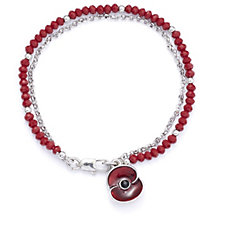 306954 - The Poppy Collection Beaded Charm Bracelet by Buckley London
