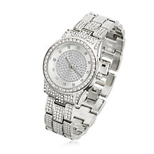 Gossip Full Pave Crystal Watch