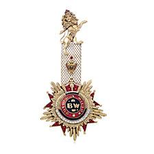 Butler & Wilson Medal Brooch