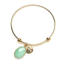 Bcharmd Darcy Semi Precious Adjustable Bangle