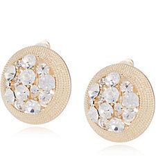 Frank Usher Crystal Clip On Earrings