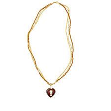 Murano Glass Romantico Heart Enhancer Charm Sterling Silver