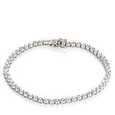 1ct Diamond Tennis 19cm Bracelet 9ct Gold
