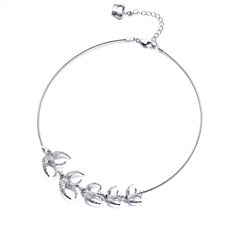 Butler & Wilson Crystal Swallow 39cm Necklace with 6cm Extender