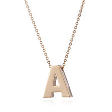 306760 - Bronzo Italia Signature Initial Necklace