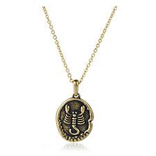 Elizabeth Taylor Zodiac Pendant 45cm Necklace with 8cm Extender