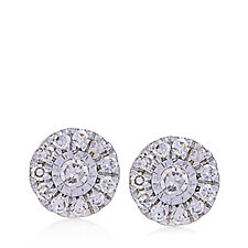 0.09ct Diamond Stud Earrings 9ct Gold
