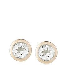 Links of London Bella Bezel Stud Earrings Sterling Silver