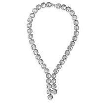 Loverocks Crystal Lariat 43cm Necklace