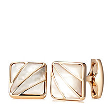 Simon Carter Deco Fan Mother of Pearl Cuff Links