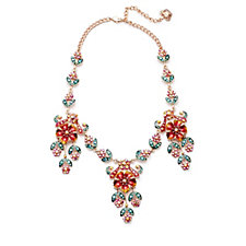Butler & Wilson Flower Chain 41cm Necklace