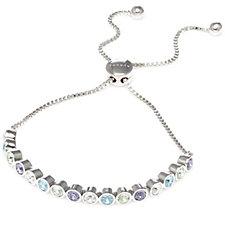 Aurora Swarovski Crystal Multi Tone Bracelet