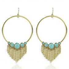 Danielle Nicole Euphemia Open Circle Drop Earrings