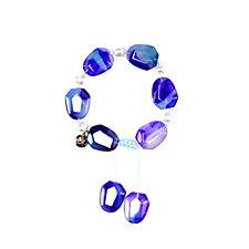 Lola Rose Orient Haze Nugget Pearl Semi Precious Bracelet