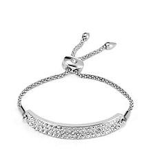 Loverocks Crystal Band Friendship Bracelet