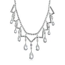Elizabeth Taylor Simulated Diamond 47cm Necklace