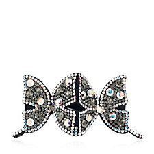 Butler & Wilson Jewelled Double Butterfly Hairclip