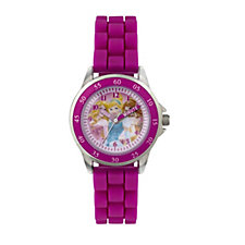 Disney Princess Time Teacher Rubber Strap Watch