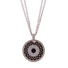 Nour Overlay Pendant & 74cm Chain
