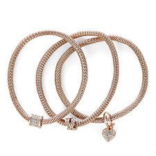 Buckley London XO Heart Set of Three Bracelets