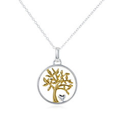 Extraordinary Life My Family My Love Pendant & Chain Sterling Silver