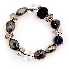 One Button Starlight Sparkle Bracelet