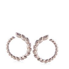 Bronzo Italia Wreath Hoop Earrings