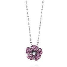 The Poppy Collection 1.51ct tw Pendant/Pin by Diamonique