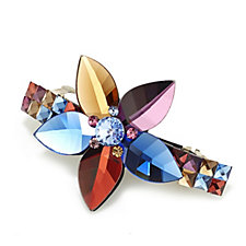 Butler & Wilson Jewelled Single Flower Hairclip
