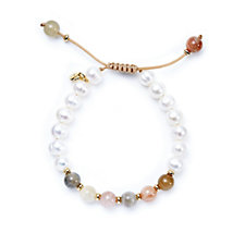 Lola Rose Freddie Cultured Honora Pearl & Gemstone Bracelet