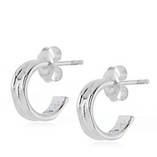 Links of London 20/20 Hoop Earrings Sterling Silver