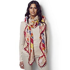 Lola Rose Statement Print Multi-Way Summer Wrap in Pouch