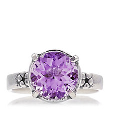 Or-Paz Solitaire Gemstone Ring Sterling Silver