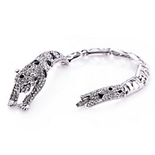 Frank Usher Crystal Sparkle Tiger 18cm Bracelet