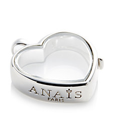 Anais Medium Heart Locket Sterling Silver