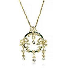 Princess Grace Collection House de Polignac Brooch Pendant 45cm Necklace